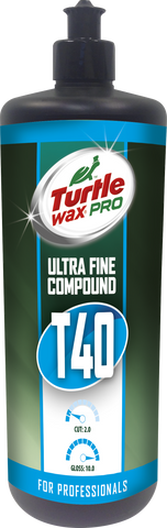 TurtleWax Pro T40 Ultra Fine Compound – 1 l