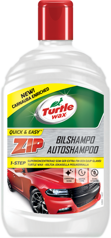 TurtleWax Zip Autoshampoo – 500 ml