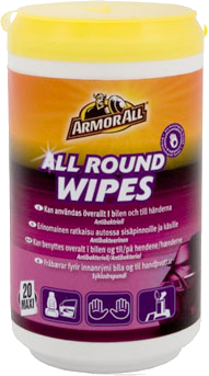 Armor All All Round Wipes 20 kpl
