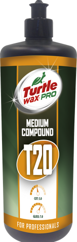 TurtleWax Pro T20 Medium Cut Compound – 1 l
