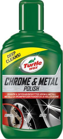 TurtleWax Chrome & Metal Polish