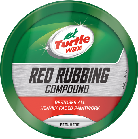 TurtleWax Red Rubbing Compound