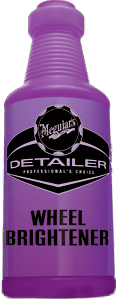 Meguiar's Pro Detailer Wheel Brightener Bottle