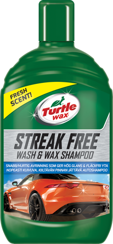 TurtleWax Streak Free Wash & Wax Shampoo