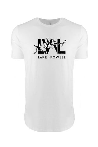Lake Powell Tall Tee - White