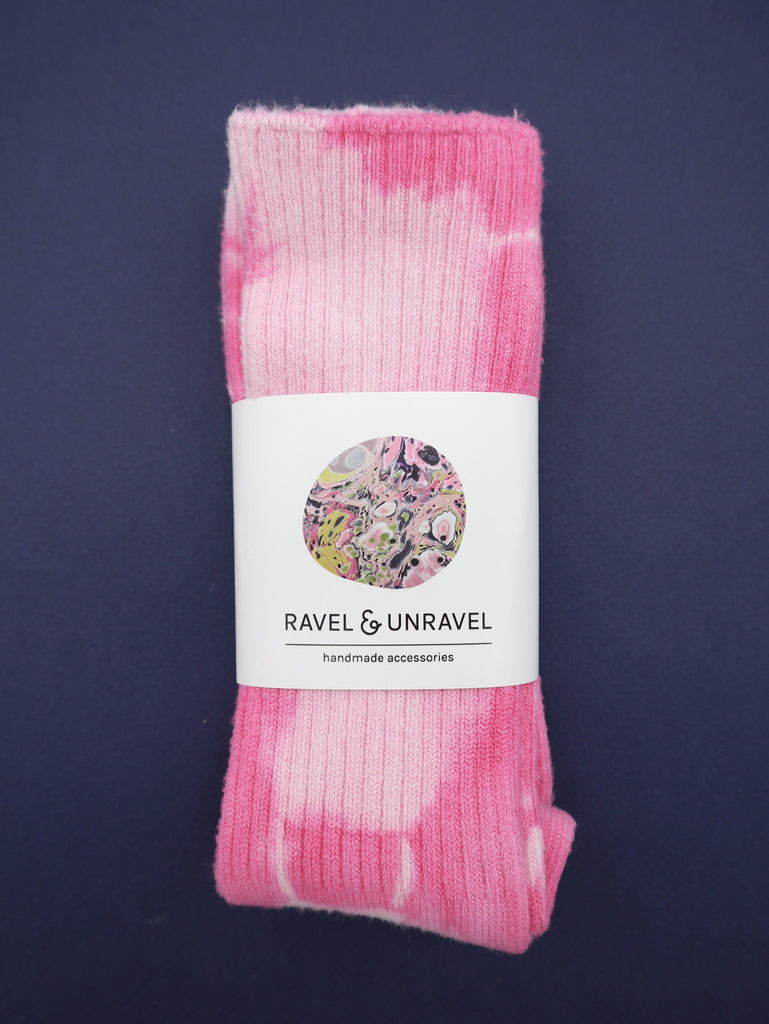 Bamboo Socks Ravel & Unravel Perfect Pink