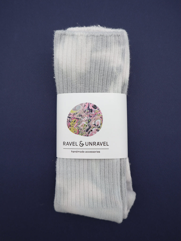 Bamboo Socks Ravel & Unravel Shroom Grey