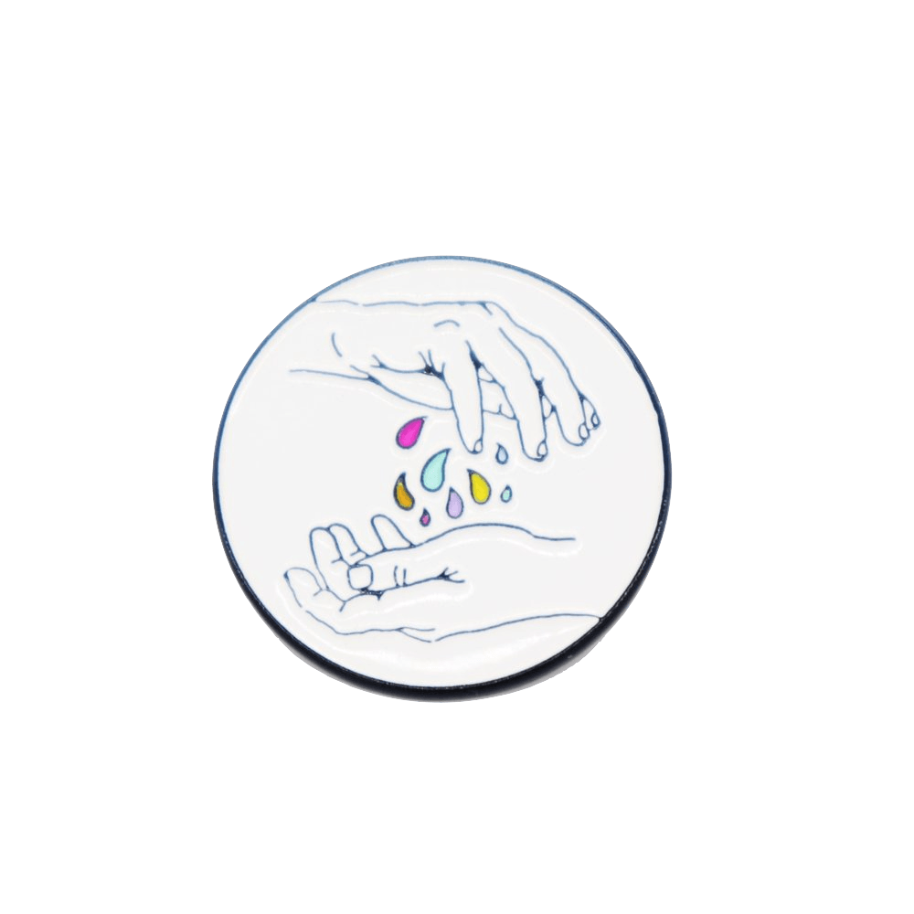 Enamel Pin - Color Drops Ravel & Unravel