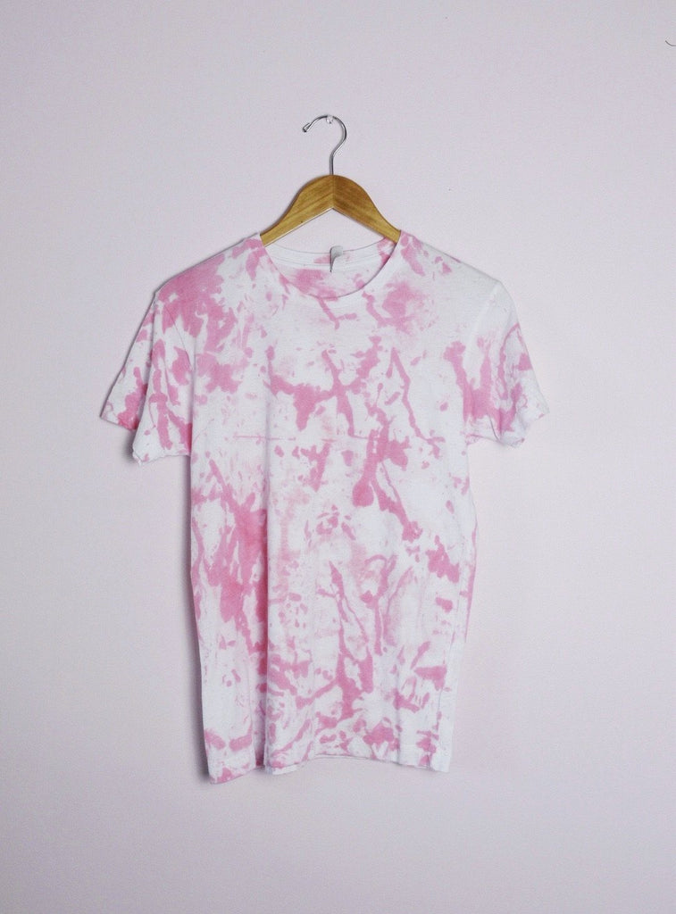 Ink Splat T-shirt Ravel & Unravel Bubblegum Pink SM