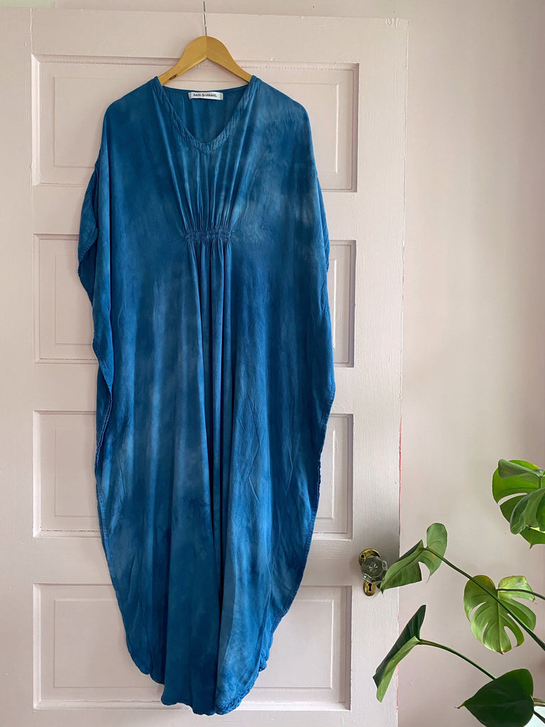 Kaftan Dress - Indigo Ravel & Unravel