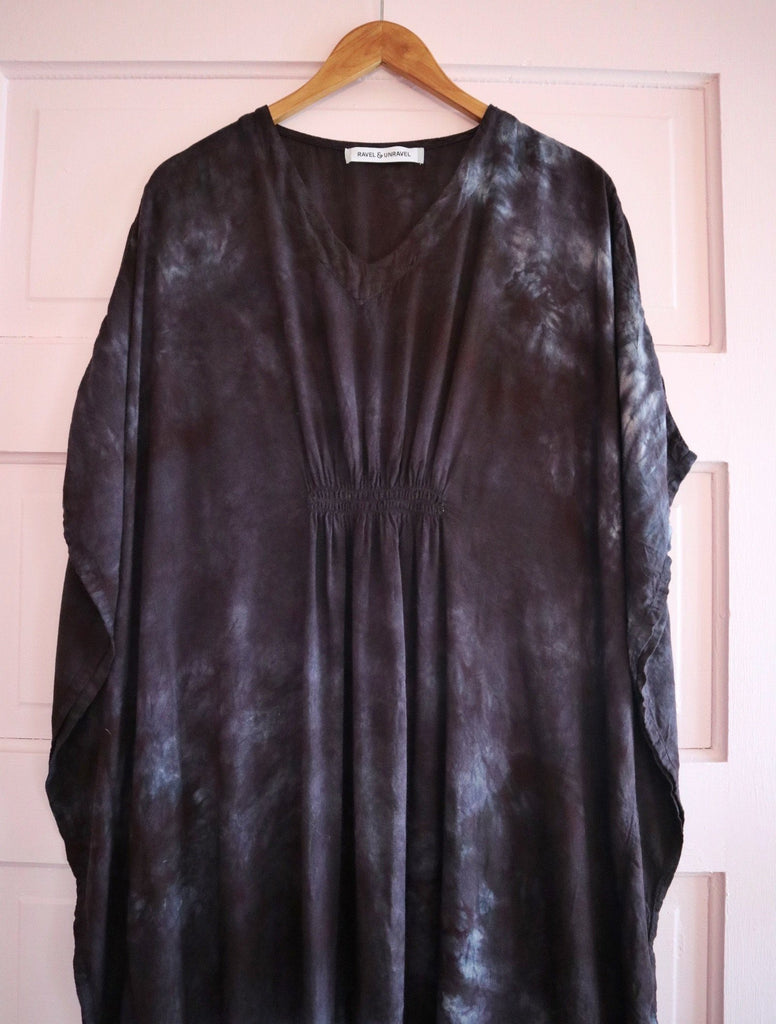 Kaftan Dress - Smoke #1 Ravel & Unravel