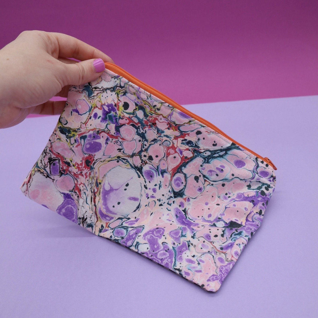 Super Clash Marbled Zip Purse #1 Ravel & Unravel