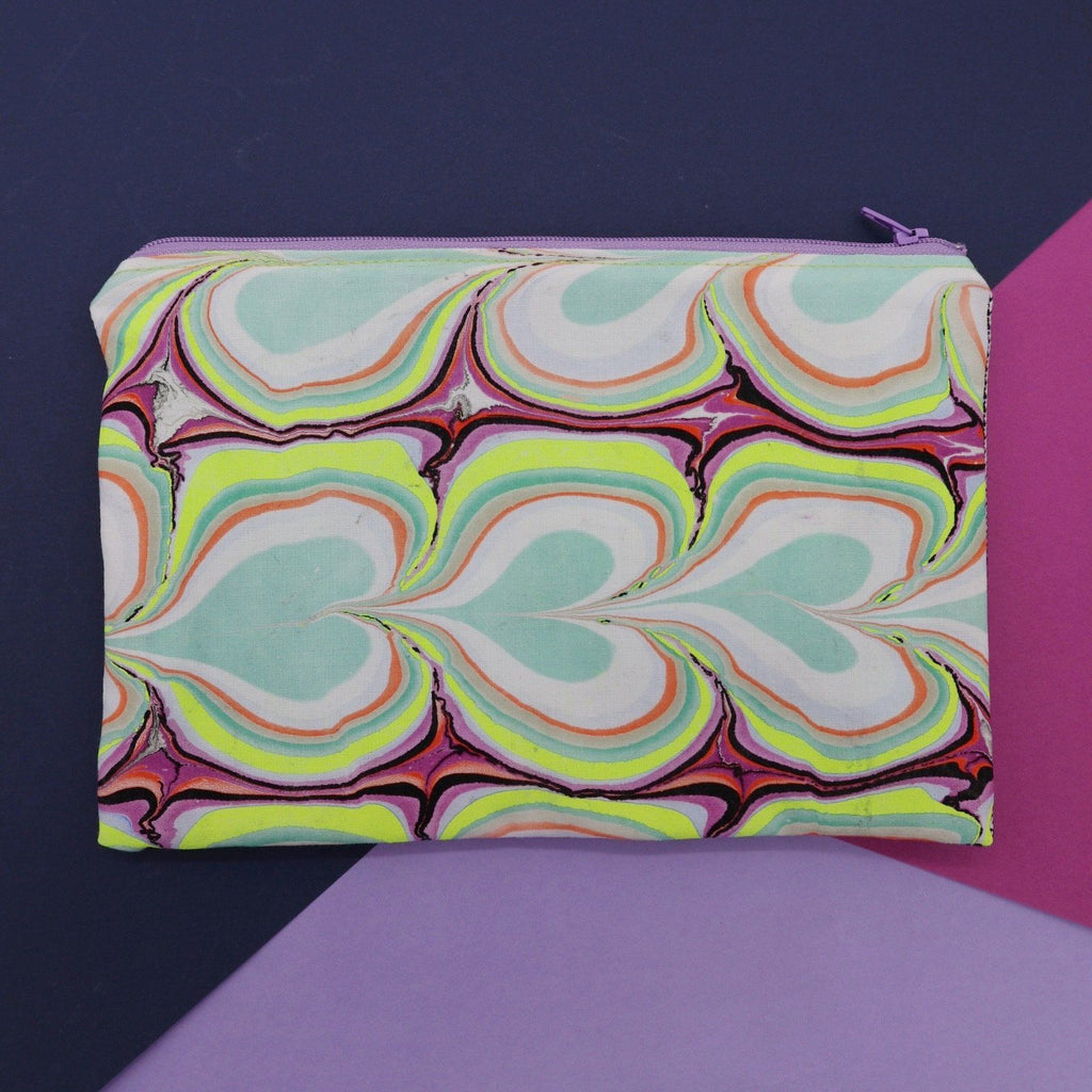Super Clash Marbled Zip Purse #10 Bag Ravel & Unravel