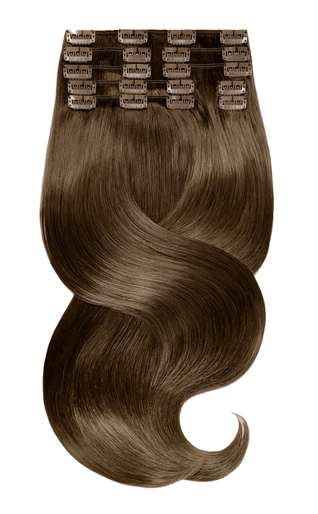RUBIN LINE Brun Doré Naturel Clip-in Extensions