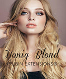 Extensions Adhésives - Tape-in Extensions Blond Miel