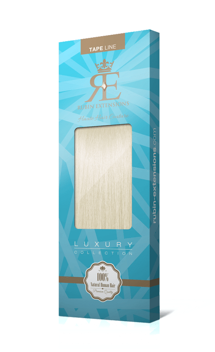 Extensions Adhésives - Tape-in Extensions Blond Platine