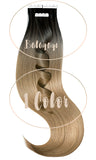Extensions Adhésives - Tape-in Extensions, Schwarz & Cool Brown
