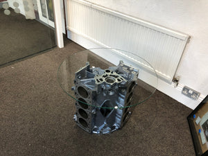 V8 Engine block table