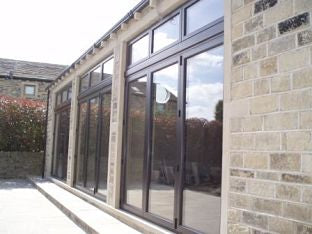 Sliding folding doors Upper Denby