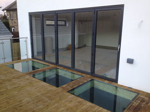 Walkover Glass Panels