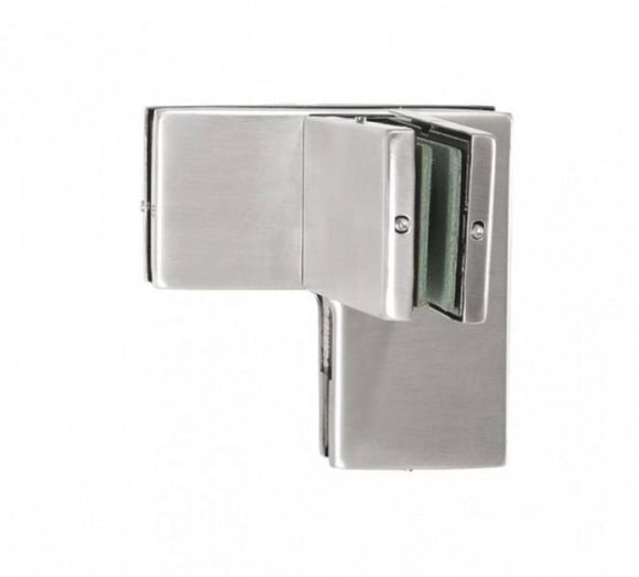 Angled Overpanel Fitting Patch PT 65 RIGHT with one side bracing - Wakefield Glass & Aluminium