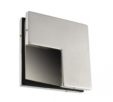 Angled Overpanel Fitting Patch PT 61 with stopper - Wakefield Glass & Aluminium