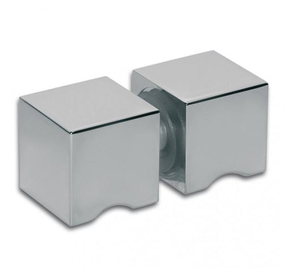 Shower Doorknob Handle length 30 mm square - Wakefield Glass & Aluminium