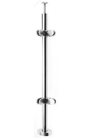 Saddle Stem top posts (for handrail) - Wakefield Glass & Aluminium
