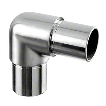 Handrail corner connector 90 degrees - Wakefield Glass & Aluminium