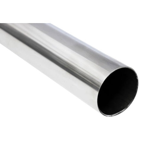 Handrail tube 42.4mm diameter brushed stainless steel - Wakefield Glass & Aluminium