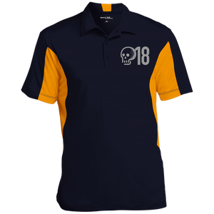 GTD Men's Colorblock Performance Polo - Golf to Death