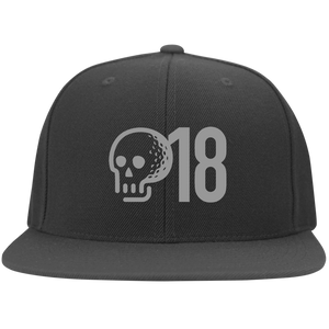 GTD18 Flat Bill Twill Flexfit Cap - Golf to Death
