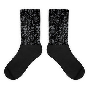 Golf to Death Socks - Golf to Death