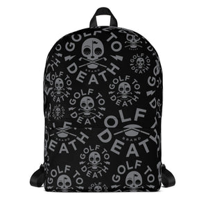 Golf to Death Backpack - Golf to Death