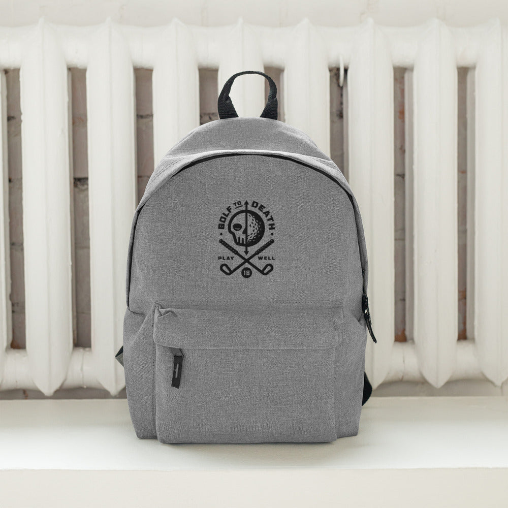 GOLF Embroidered Backpack - Golf to Death