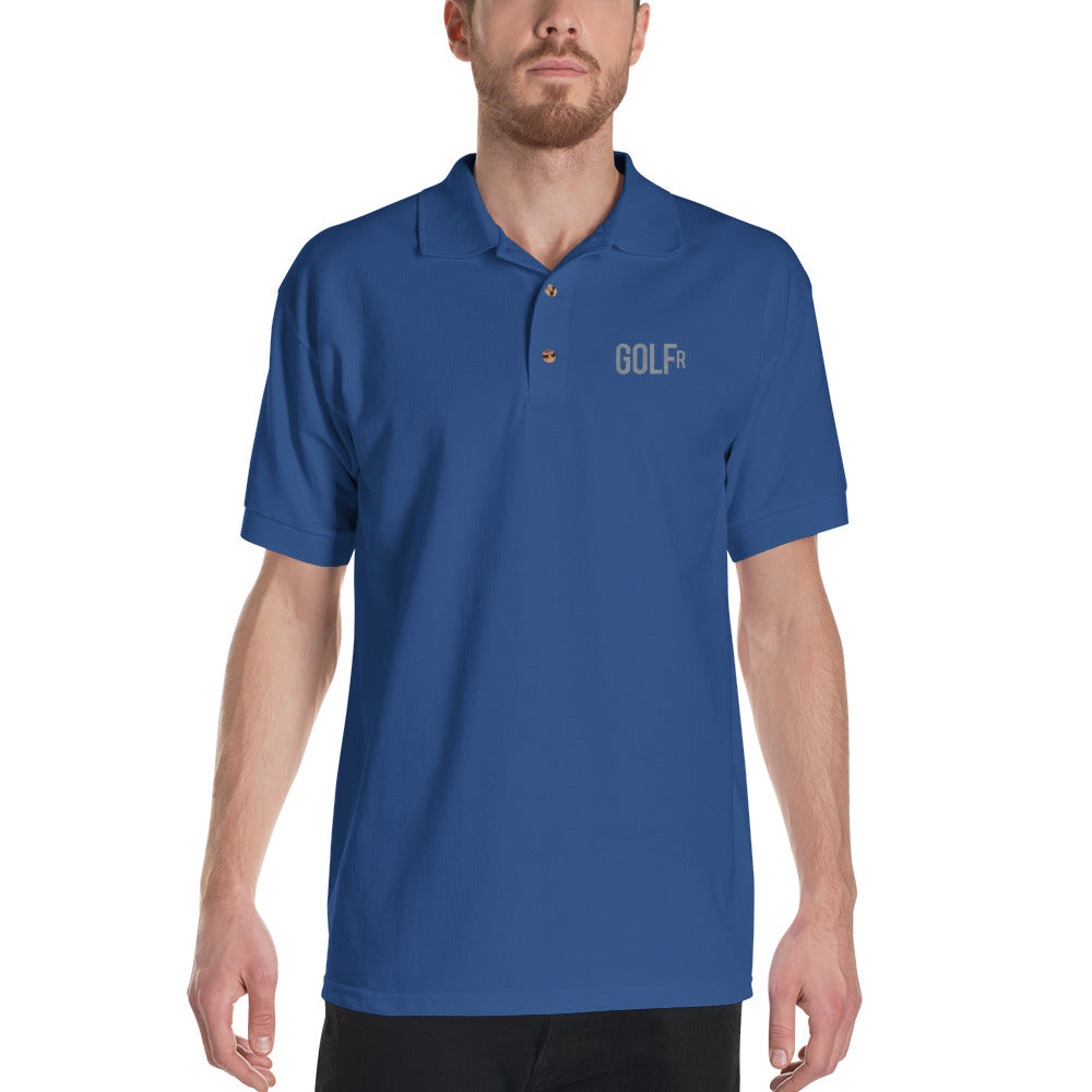 Golf R Embroidered Polo Shirt - Golf to Death