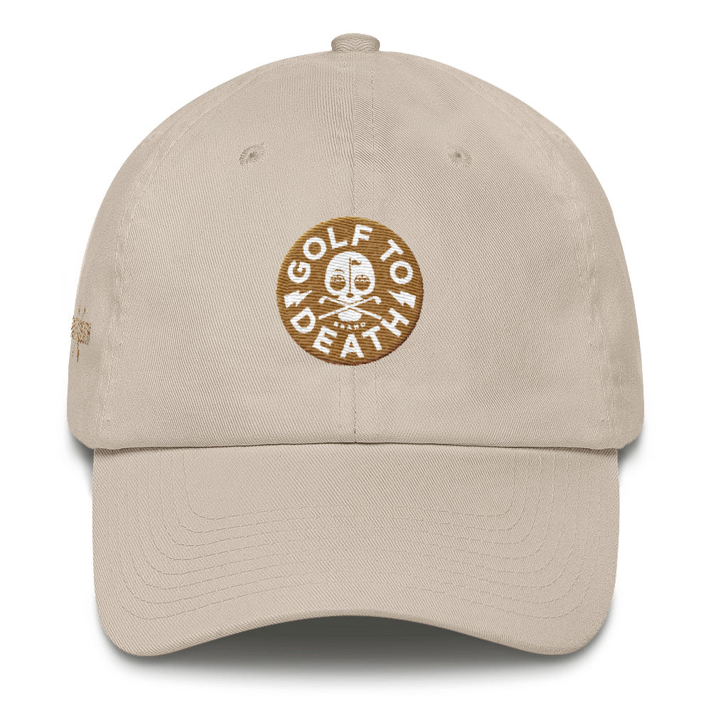 GTD Badge Cotton Cap - Golf to Death