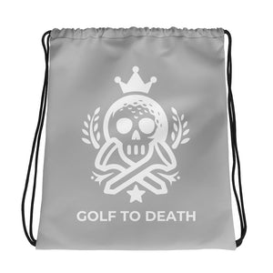 Golf to Death - Drawstring bag - Golf to Death
