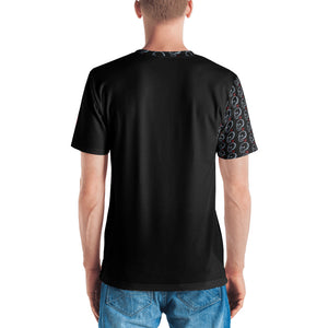 Patterned Skulls Men's T-shirt - Golf to Death