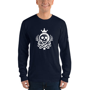 Tees & Bones - Long sleeve t-shirt - Golf to Death