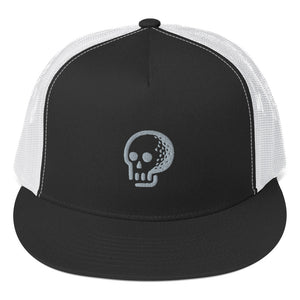 Golf Skull Cap - Trucker - Golf to Death