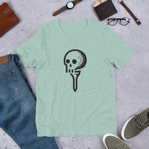 Tee it Up! Unisex T-Shirt - Golf to Death
