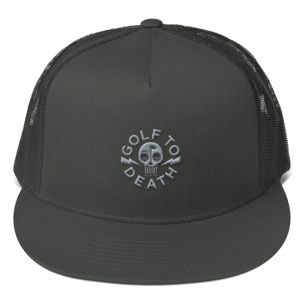 Golf to Death Mesh Back Snapback - Golf to Death