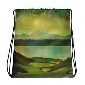 Golf Drawstring bag - Golf to Death