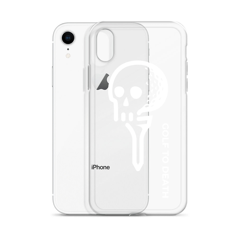 Golf to Death - iPhone Case - Golf to Death