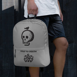 Golf to Death Hipster Backpack - Golf to Death