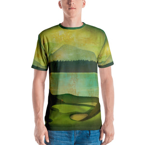 Chambers Bay Print Men's T-shirt - Golf to Death
