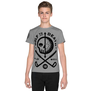 Golf - Youth T-Shirt - Golf to Death