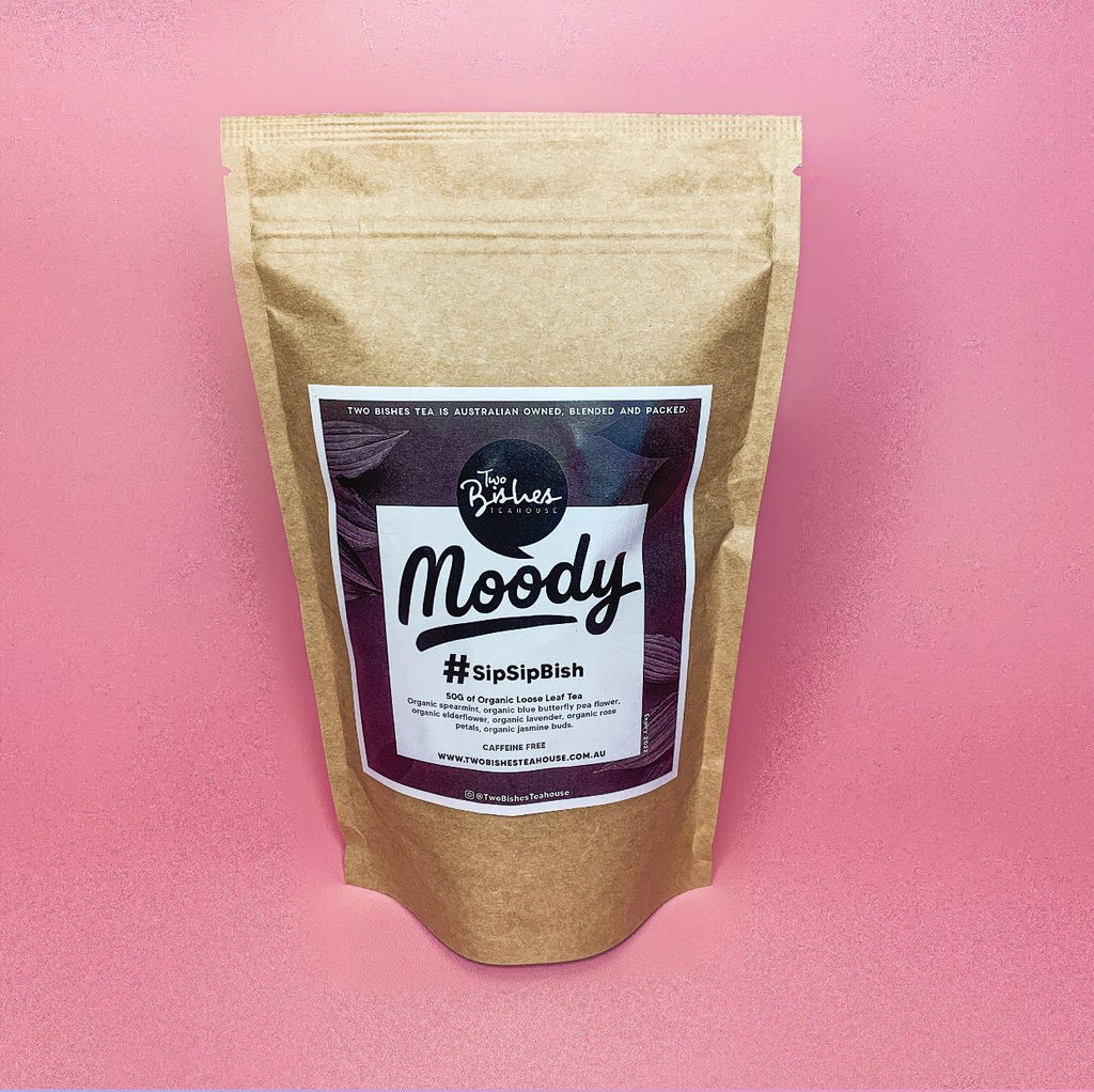 MOODY Blend Organic Loose Leaf Tea Two Bishes Teahouse
