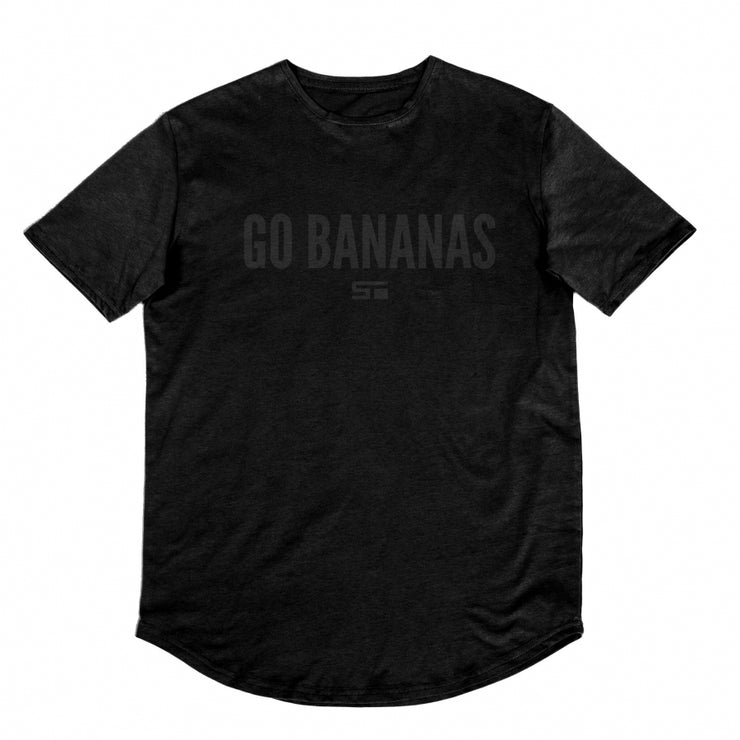 Go Bananas Scoop Tee - Black